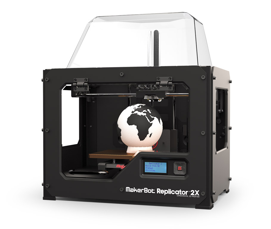 MB Replicator 2X Blok -MakerBot Replicator 2X