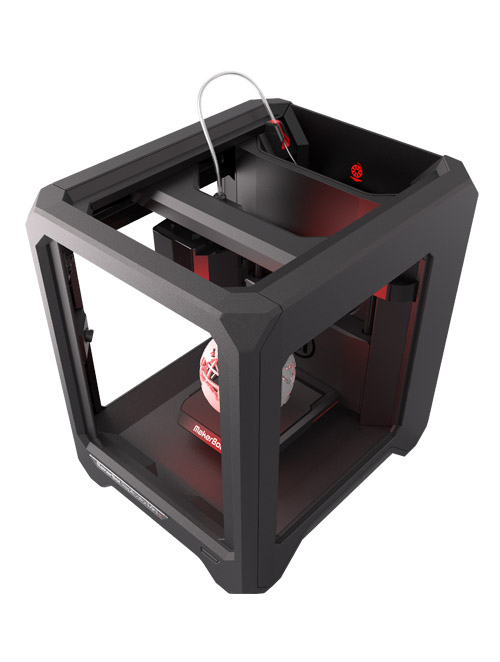 MakerBot Mini 3D printer bovenaanzicht -MakerBot Replicator Mini+