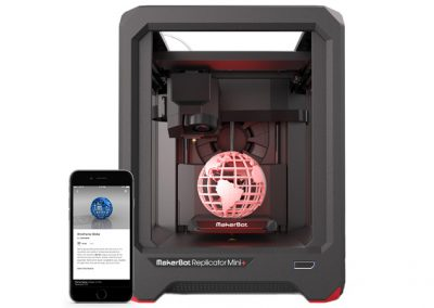 MakerBot Replicator 3D printer 3 400x284 -MakerBot Replicator Mini+