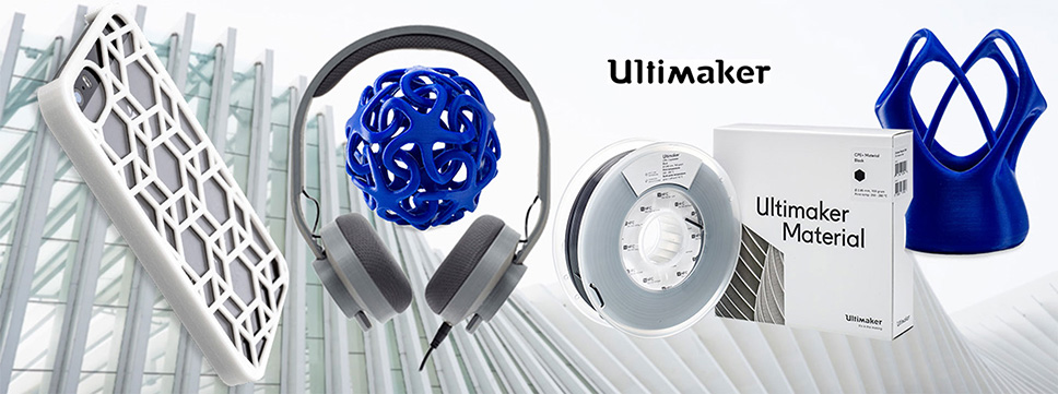 Ultimaker materialen -Ultimaker filament bestellen